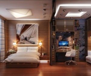 Best Bedroom Office Images On Pinterest Bedroom Office