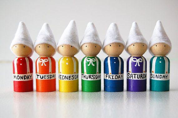 Elles sont géniales pour les petits juste de commencer à apprendre leurs chiffres et les mathématiques.  Chaque gnome est en bois et peint à la main avec des peintures non toxiques. Les gnomes se 2,5 pouces de hauteur et ont des chapeaux feutre.  ** MANIER PAS POUR LES ENFANTS DE MOINS DE 3 ANS PETITES PIÈCES **  Pour les enfants âgés de 3 poupées de JUMBO sont maintenant disponibles