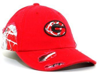 Georgia Bulldogs Bounty Hunter Cap Adult Relaxed Collegiate Hat by Georgia. $9.99. Check out how this camo pattern emerges from underneath as the Bounty Hunter combines authentic GameDay team color camo patterns with your school's color on a slightly torn washed cotton garment relaxed red cap.. Georgia Bulldogs Bounty Hunter Cap Adult Relaxed Collegiate Hat. No need to hunt too long as you score the newest in team color camo patterns.. Adjustable Velcro closure.. You'll standout ...