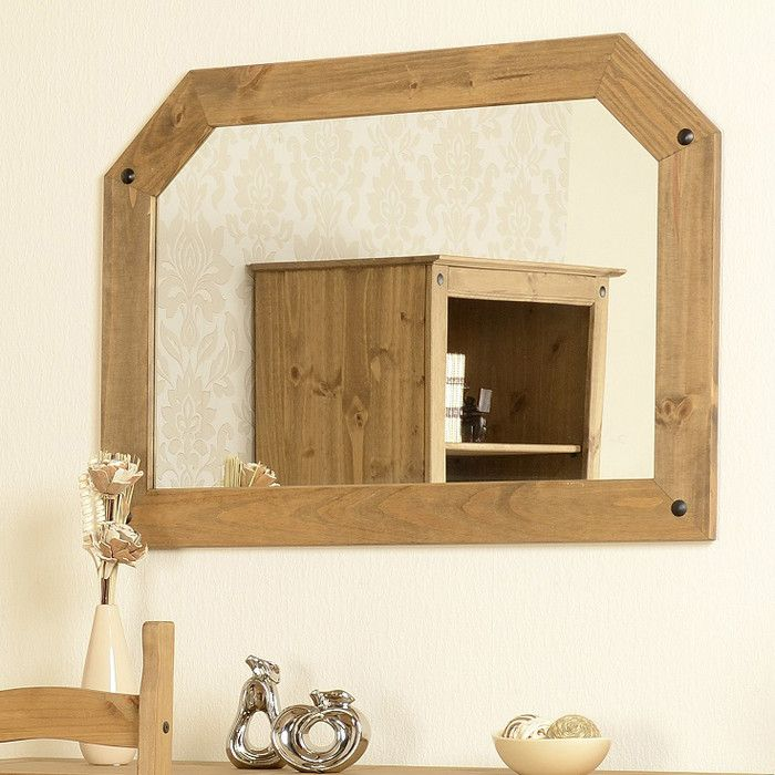 Home & Haus Corona Over Mantle Mirror & Reviews | Wayfair UK