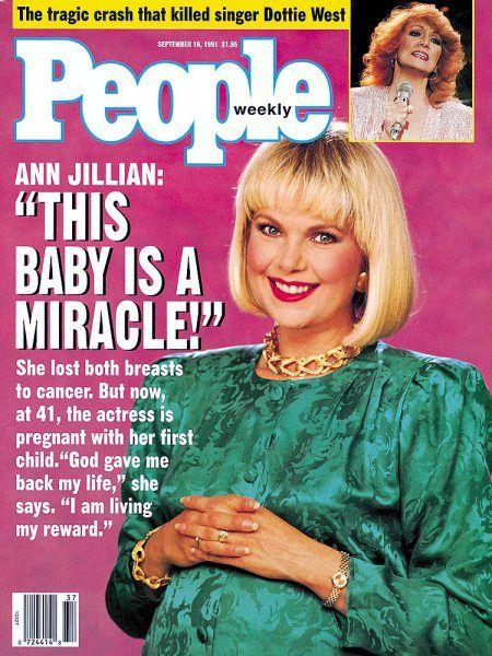 "MOST PEOPLE MIGHT HAVE REGARDED THE ""ODD LITTLE indigestion"" that Ann  Jillian felt last July as a minor inconvenience at worst. But six years  before, ..."