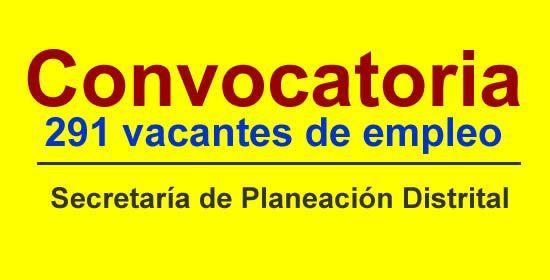 CONVOCATORIA SECRETARÍA DE PLANEACION DISTRITAL - Danza Contemporanea | Danza Común