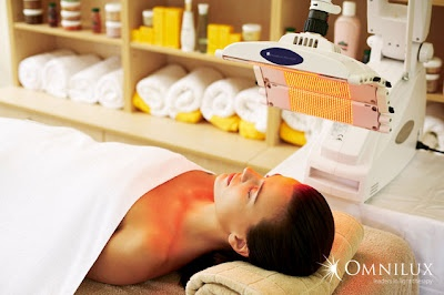 Omnilux treatment. Ella Rouge Beauty Skin Care and Laser Clinics.