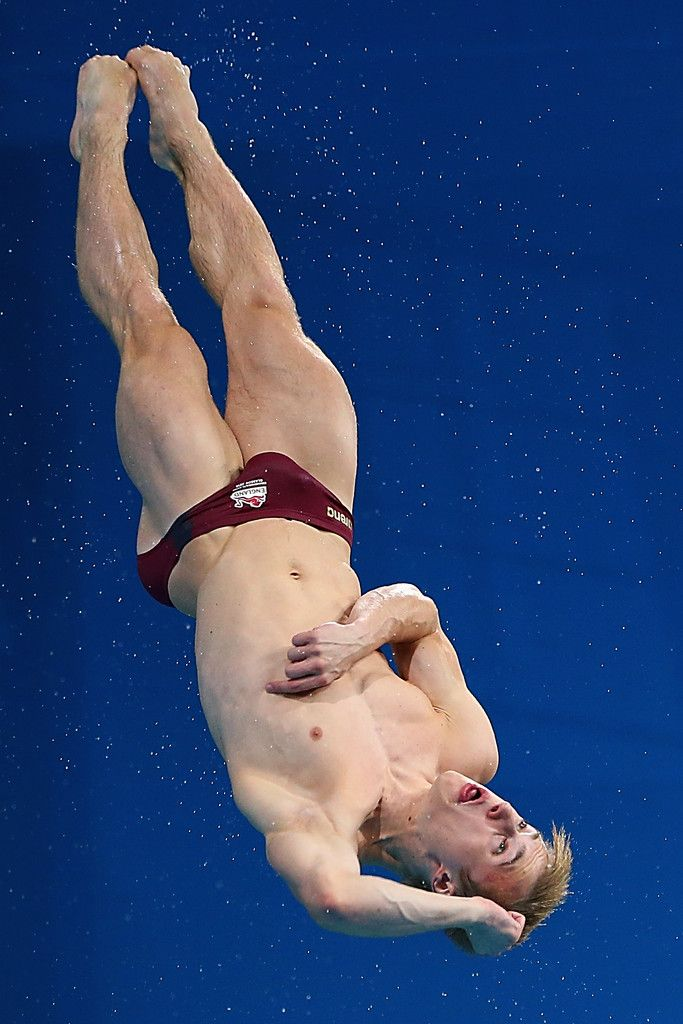 Jack Laugher with an awesome speedos bulge