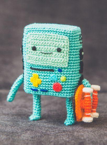 Amigurumi: BMO aus Adventure Time - Häkelanleitung via Makerist.de