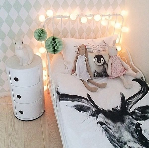 Scandinavian style - inspiration ideas for kids rooms