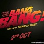 A powerful teaser of the most awaited action and romance drama 'Bang Bang' out today. The film starring Hrithik Roshan along with Katrina Kaif in the lead roles. The film is being directed by Siddharth Anand and it's a remake of the Hollywood drama 'Knight...