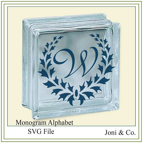 Monogram Alphabet svg, Wedding SVG monogram alphabet, vinyl cutting, cards, printable, SVG file, invitations and signs  WHAT YOU WILL RECEIVE  One SVG file with all monogram letters. Each letter is individually grouped.  A download link will be emailed to you just a few minutes after your purchase. You will also be able to access the file after checkout on your Etsy Purchases page.  As there is no physical item being shipped to you so there are no returns for this digital download purchase…