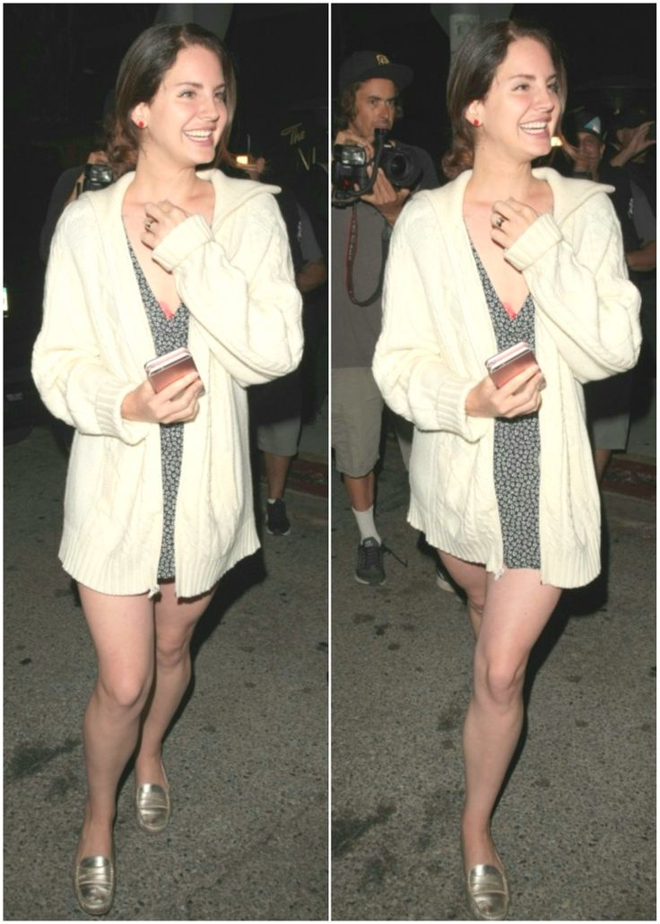 June 18, 2017: Lana Del Rey leaving The Nice Guy restaurant in Los Angeles #LDR
