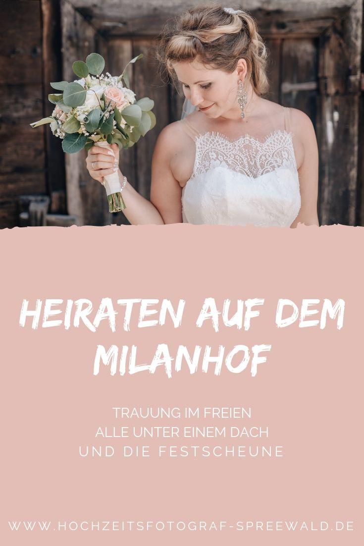 Heiraten Auf Dem Milanhof Im Spreewald Heiraten Trauung Im Freien Trauung