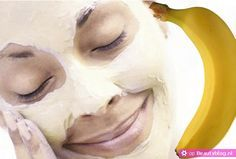Recept om zelf een gezichtsmasker te maken met een banaan. Een snelle manier om de droge of gevoelige huid goed te hydrateren is met een vochtinbrengend masker.