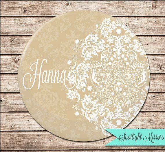 Bridesmaid Gift  Personalized Compact or by SpotlightMirrors, $4.50