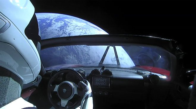 "Elon Musk's SpaceX-spacefaring cherry-red, Tesla Roadster could be a Martian 'Biothreat'. Launched spectacularly on Feb. 6, the vehicle carried by the Falcon Heavy rocket & on a course toward Mars, in addition to the ""Starman"" dummy behind the wheel, it likely also carries a payload of uncounted terrestrial microbes that could spell trouble for the Martian environment. As the Roadster was not intended to land on Mars, it did not undergo NASA's OPP cleaning to make it bacteria-free b4…"