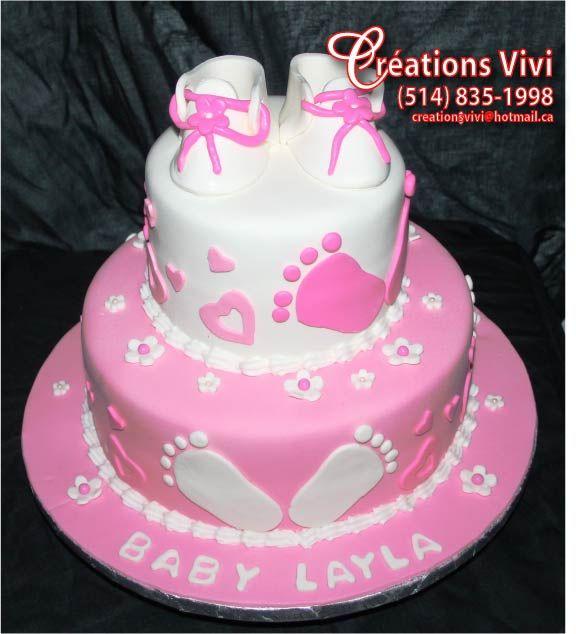 Gâteau de bapteme ou bébé shower