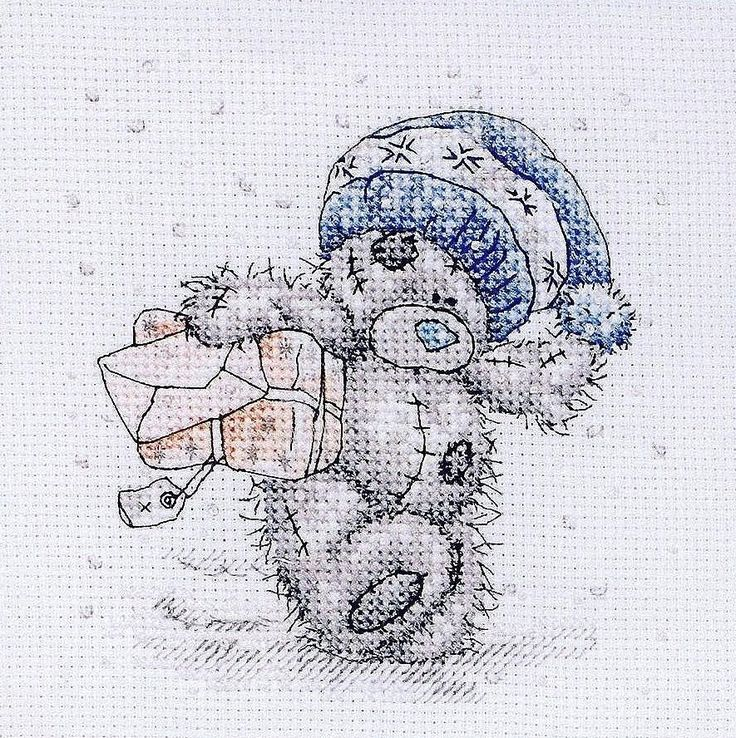 Schematic cross stitch Christmas Pack 1