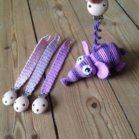 Jeg har fået en forespørgsel på en hæklet elefant, der kunne hænge som pynt på kalechen på en barnevogn. Så jeg måtte i gang med at afprø...