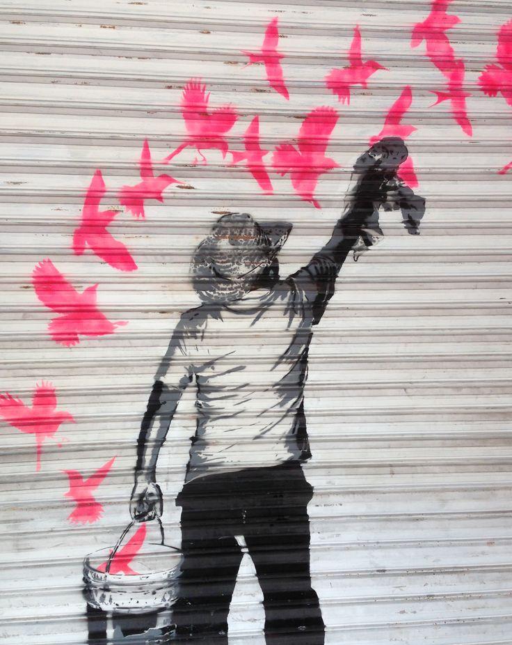 Street art Avenida Revolucion