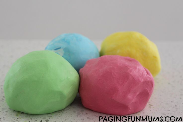 The softest Playdough you'll ever use AND you only need 2 ingredients!