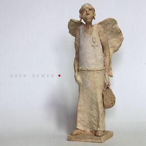Travel, ceramic angel. Arek Szwed