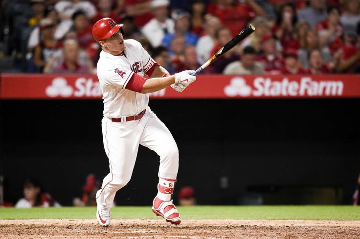 TEN MOST DESERVING MLB MVP CANDIDATES  -  September 7, 2017:   2) MIKE TROUT, ANGELS  -   Trout has been a fixture in the AL MVP race since 2012, and this year will be no different. In fact, there's an argument to be made that he's having his best season yet. His .324 average, .463 OBP, and .652 slugging percentage would all be career bests, and he's well on his way to 30 home runs again.   MORE...