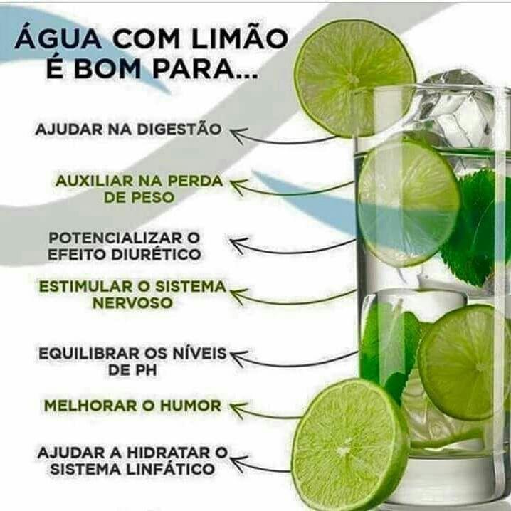 Agua Com Limao Detox Detox Emagrecer Emagrecimento Fit