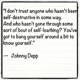 Johnny Depp quote <3