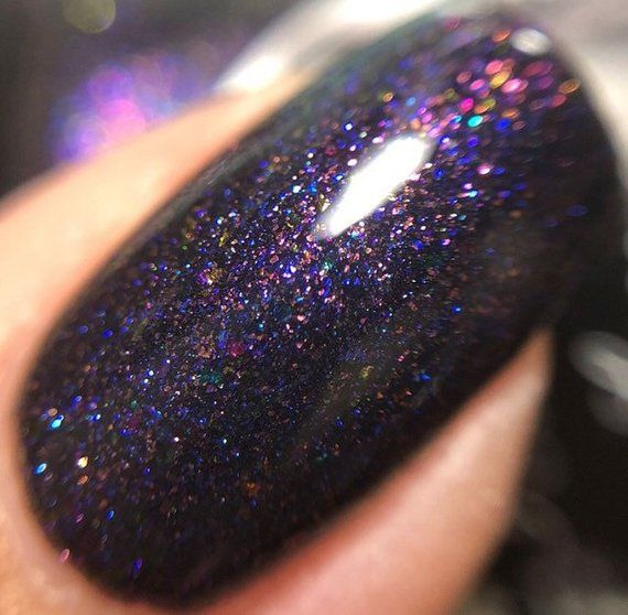 Supermassive Black Hole – matte nail polish – matte – 5 free – handmade – indie …
