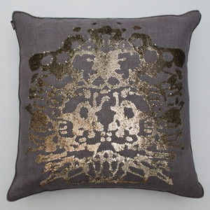 rorschach: Decor Therapy, Gift, Sequins Pillows, Ankasa Pillows, Interiors Design, Pillows Decor, Beads, House Decor, Ankasa Linens