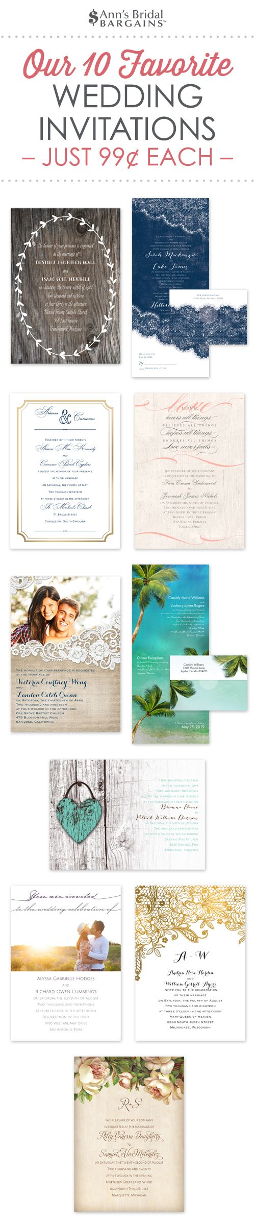 inexpensive wedding invitations with response cards%0A Our    Favorite Wedding Invitations and Why