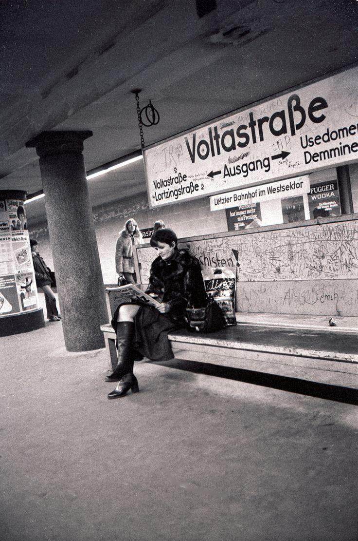 U-bhf Voltastraße ca. 1970s