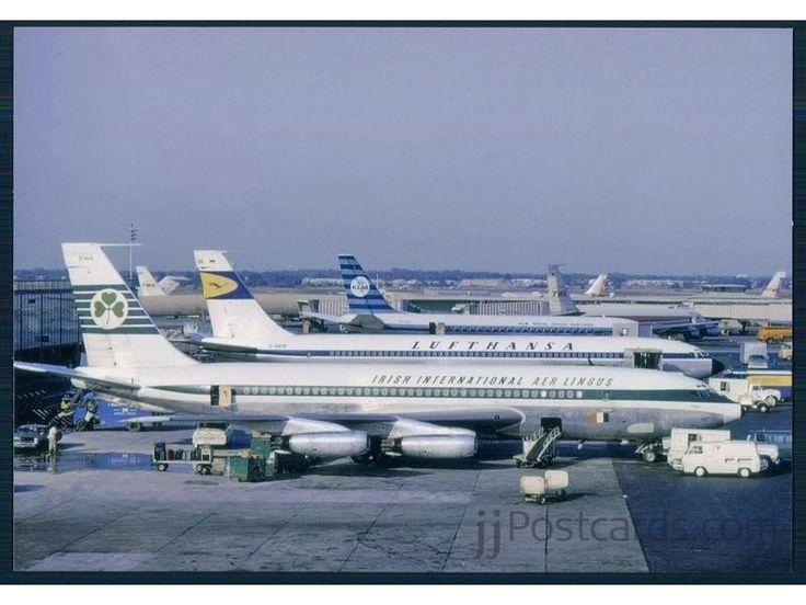 Aer Lingus B.720, Lufthansa B.707 etc. - jjPostcards