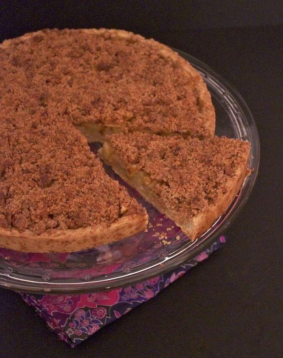 Simple mais efficace Tarte crumble pomme, rhubarbe, speculoos [Résultats du concours inside] photo