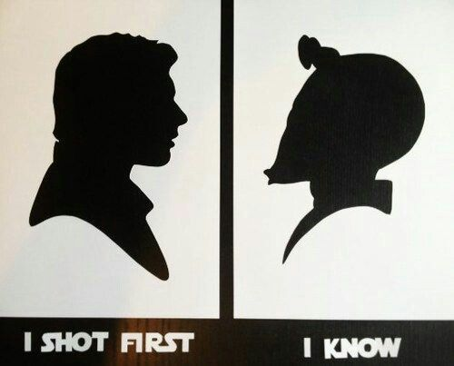 Han shot first | I know