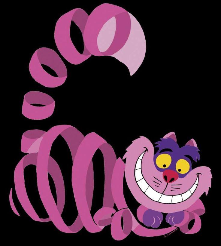 Cheshire Cat Swirly Eyes