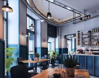 """Check out new work on my @Behance portfolio: """"Modern Cafe Design"""" http://be.net/gallery/35757587/Modern-Cafe-Design"""
