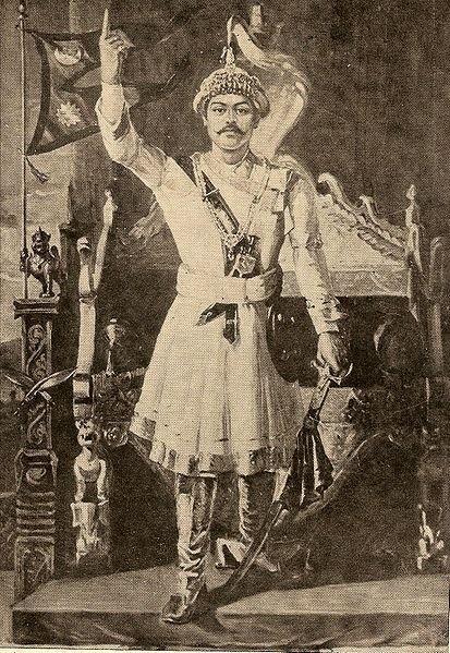 Prithvi Narayan Shah, King of Nepal.