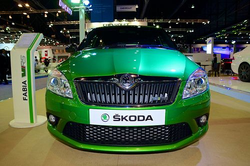 Skoda Fabia VRS at the 30th Thailand International Motor Expo 2013