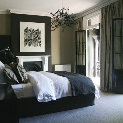 Black White And Tan Bedroom Ideas Interesting Design Inspiration