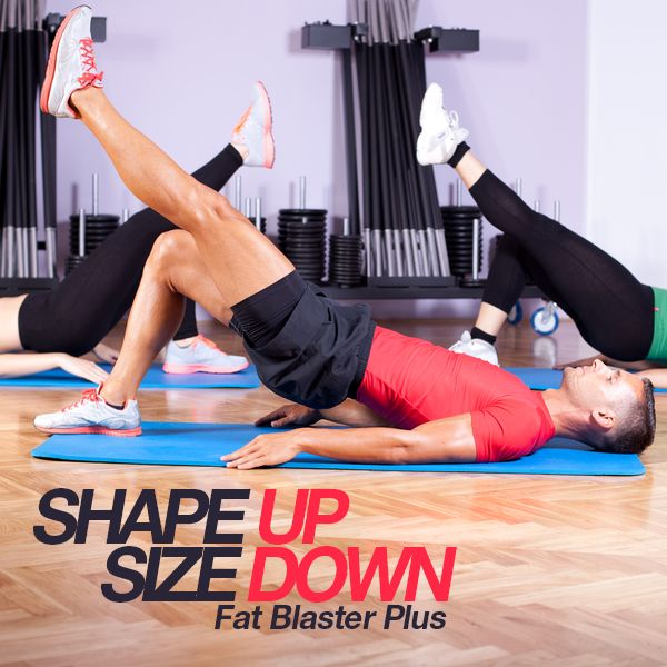 This Shape Up Size Down workout routine is designed to burn fat and tone muscles.  #shapeup #workout #buildmuscle