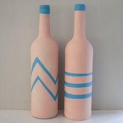 DO-IT-YOURSELF: Creatief met oude wijnflessen!