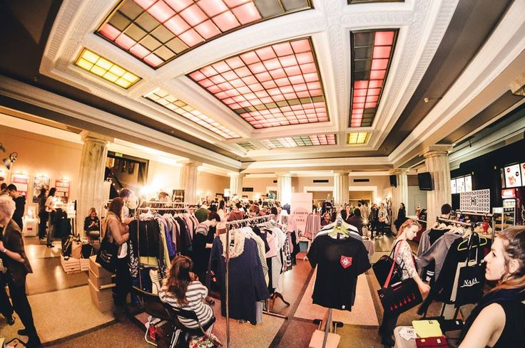 Targi Fashion in Warsaw 14 listopada 2015, Kinoteka - Pałac Kultury i Nauki.