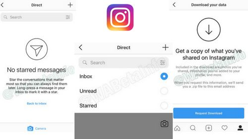 One of the most-popular photo sharing platform Instagram is testing some new features for its iOS version. The Facebook-owned app is known for trying out new things and with Instagram iOS app version 35.0, the company is testing out features like Starred Chats, Chat Search Filet, and Data download. The features will soon be available to all the users but…