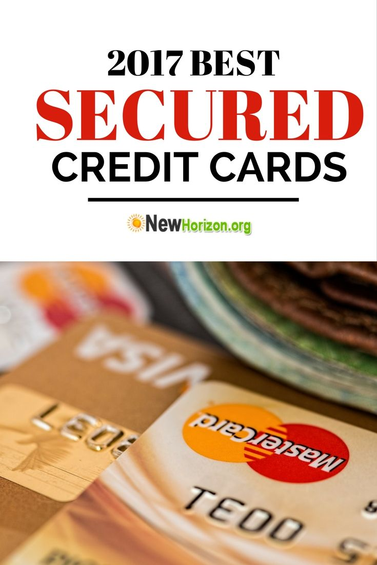 2017 Secured Credit Cards