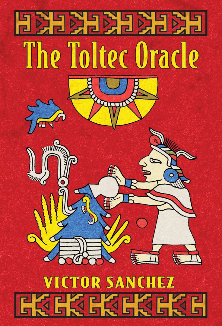 The toltec oracle by victor sanchez