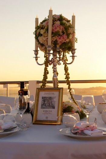 Seating chart, table numbers, placeholders & menus
