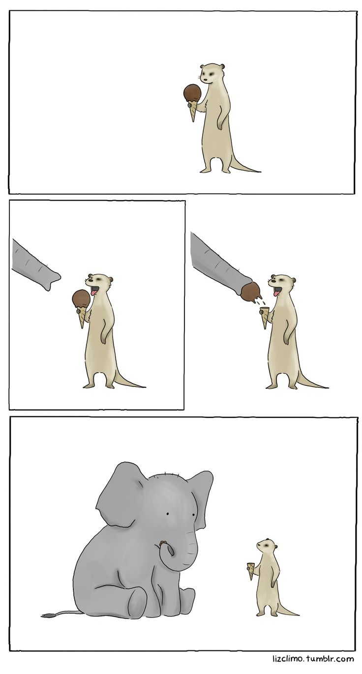 A funny comic by Liz Climo!!