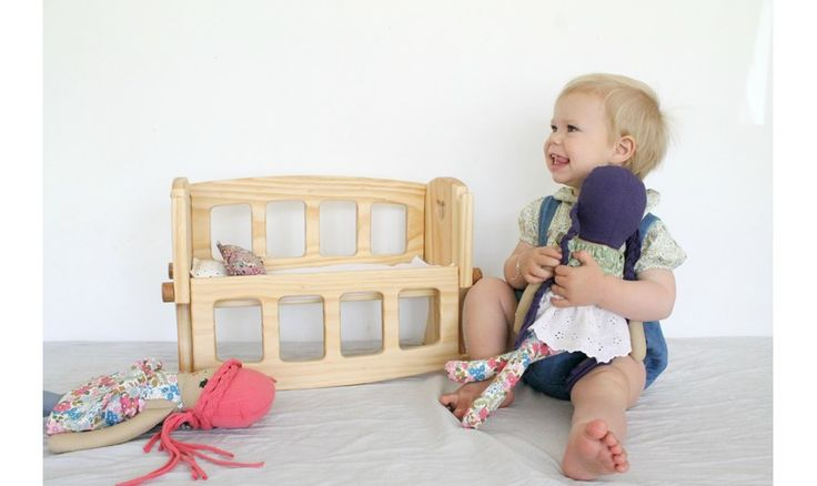 Needle and Nail | D - Wooden Doll's Cot