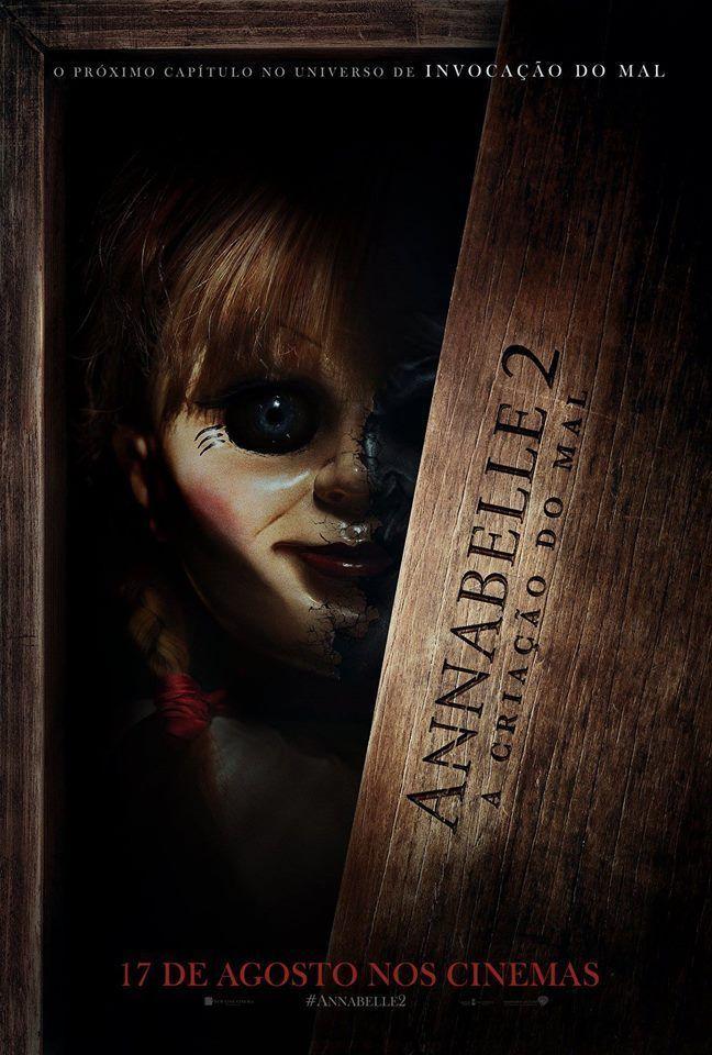 Annabelle 2 A Criacao Do Mal Dublado Filmes De Terror
