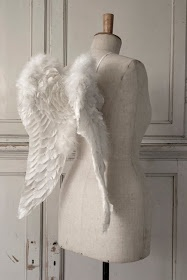 Vintage chic: Om giner og englevinger/ angel wings