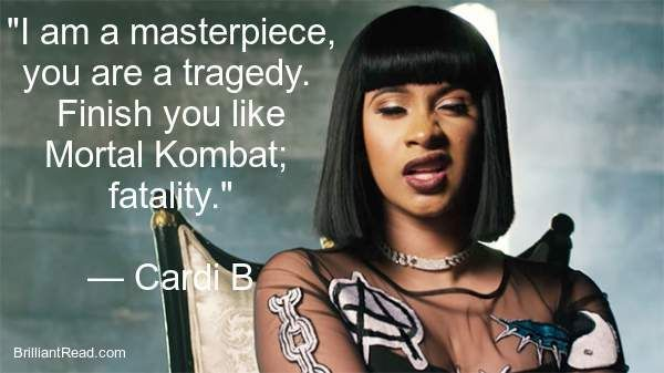 Best Card B Quotes Motivational Cardi B Quotes Pinterest